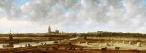 1862-0006-SCH-Jan van Goyen, Gezicht op Den Haag vanuit het zuidoosten, 1650-1651