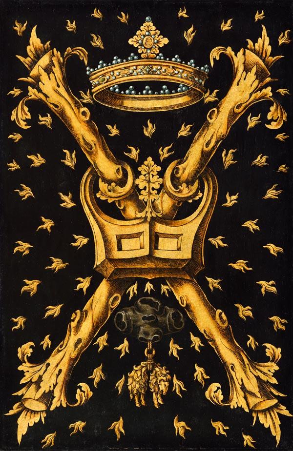 N16: Embleembord Orde van het Gulden Vlies