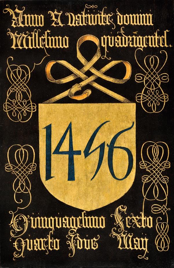 N17: Jaarbord kapittel 1456