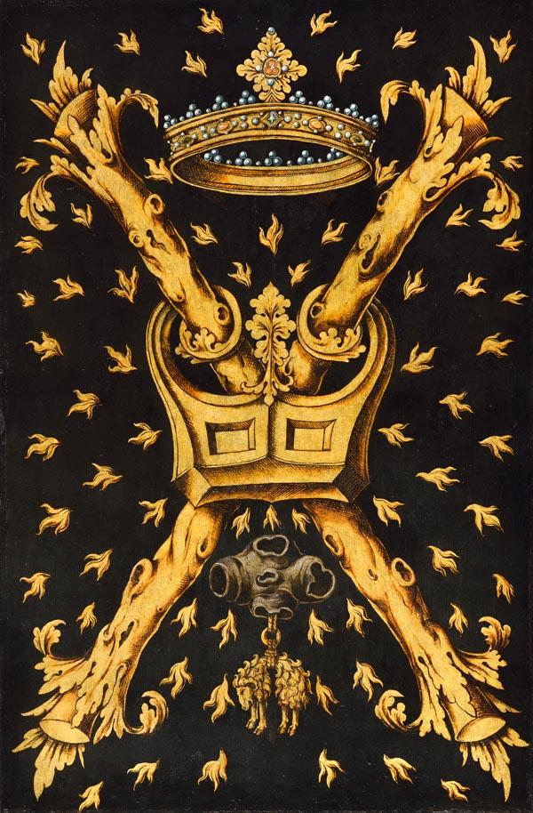 Z02: Embleembord Orde van het Gulden Vlies
